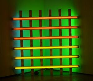 Dan Flavin - Untitled (To Harold Joachim) - 1977. Photo: E.R.
