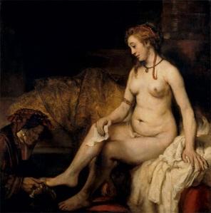 Batsheba, Rembrandt (1654)