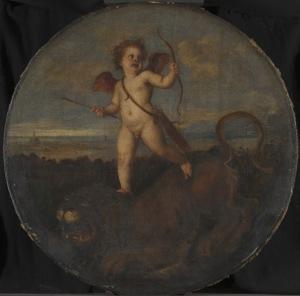 Le Titien - L'Amour triomphant de la force - 1545