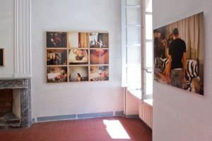 Ulrich Lebeuf à Arles - Vue de l'exposition c/o MYOP