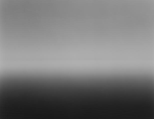Epreuve gélatino-argentique, 182,4 x 154,2 cm © Hiroshi Sugimoto / courtesy of Gallery Koyanagi.